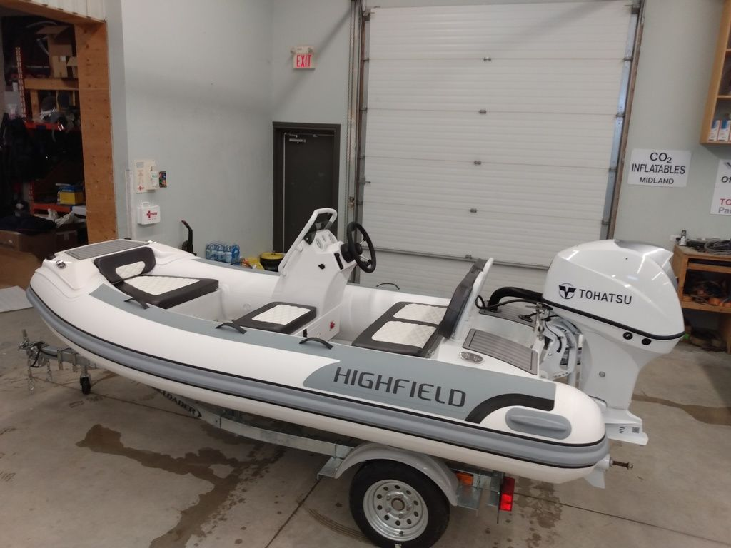 2021 Highfield boat for sale, model of the boat is Sport 360 Deluxe & Image # 1 of 4