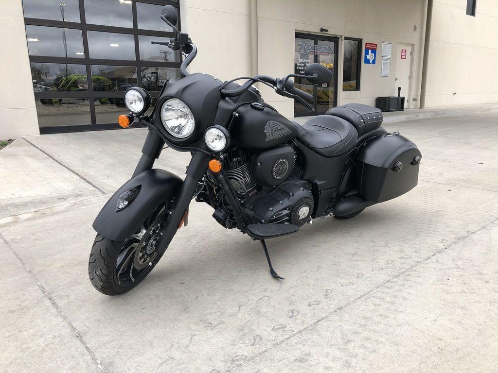 Pre-Owned 2019 Indian Motorcycle Springfield® Dark Horse® Thunder Black Smoke Cruiser