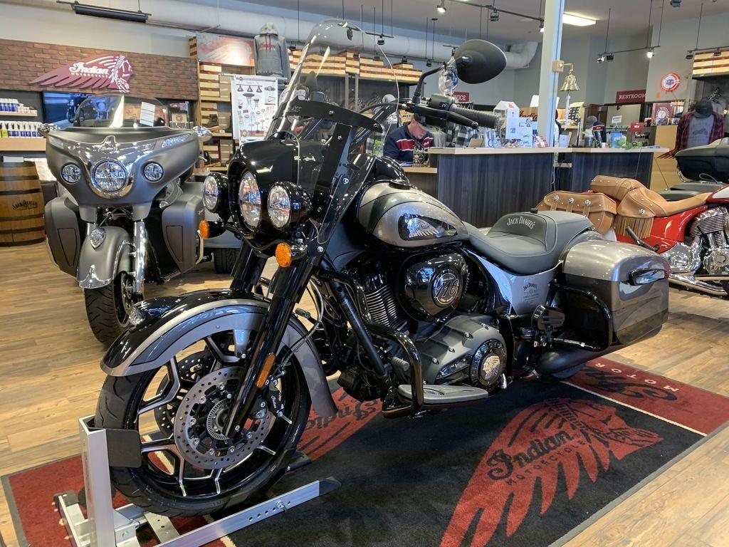 2020 Indian Motorcycle® Jack Daniel's® LE Indian Springfield® Dark Horse® Heavy Metal Crystal & Thu