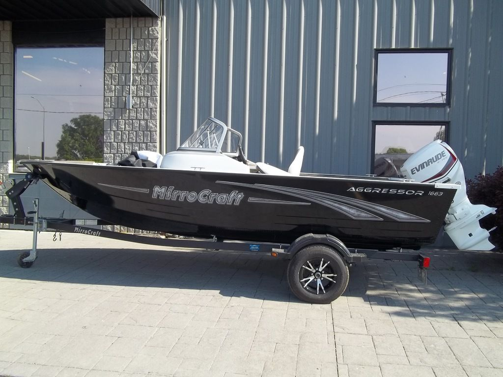 2015 MirroCraft boat for sale, model of the boat is Aggressor Series 1663 & Image # 1 of 17