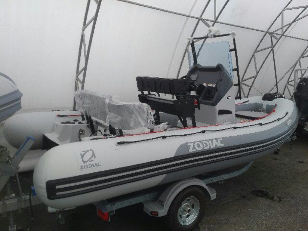 2021 Zodiac boat for sale, model of the boat is Open 5.5 & Image # 3 of 7