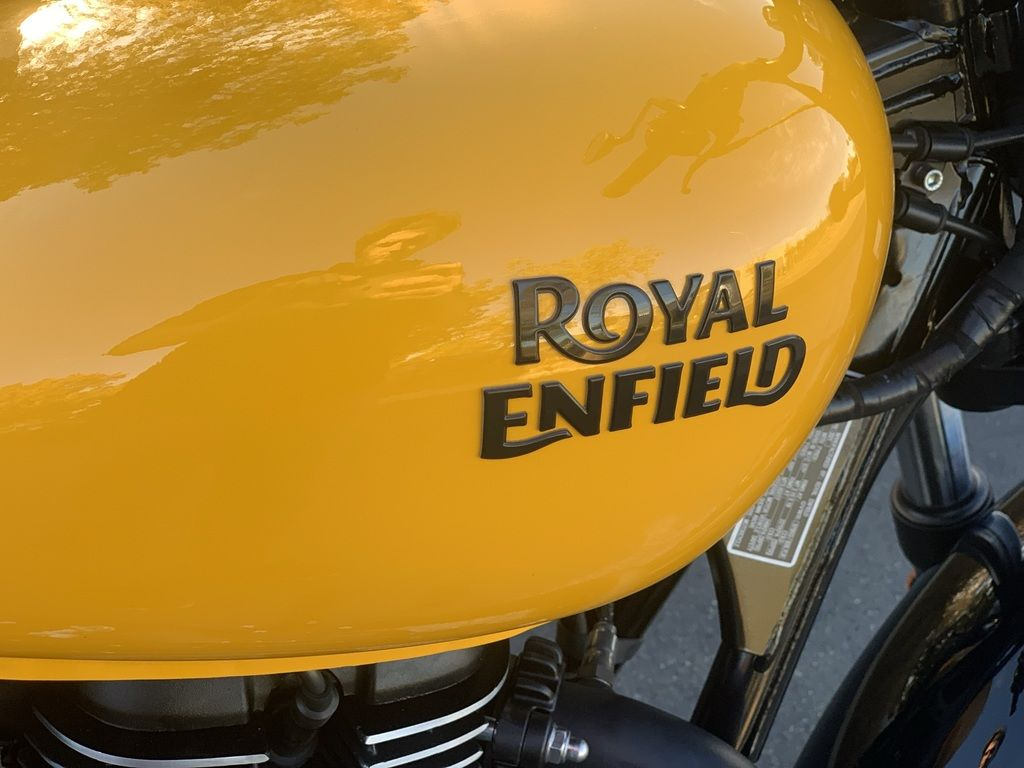 2021 royal enfield meteor 350 fireball yellow for sale in las vegas