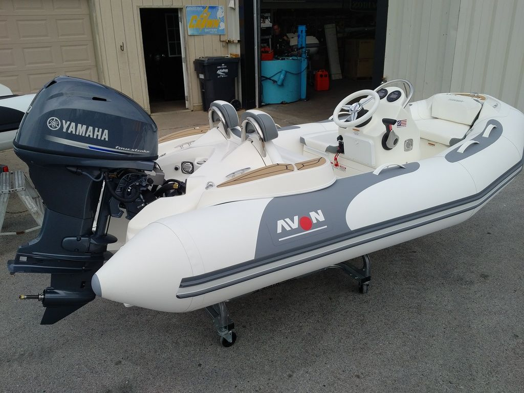 2019 Zodiac boat for sale, model of the boat is 360 SS & Image # 1 of 4