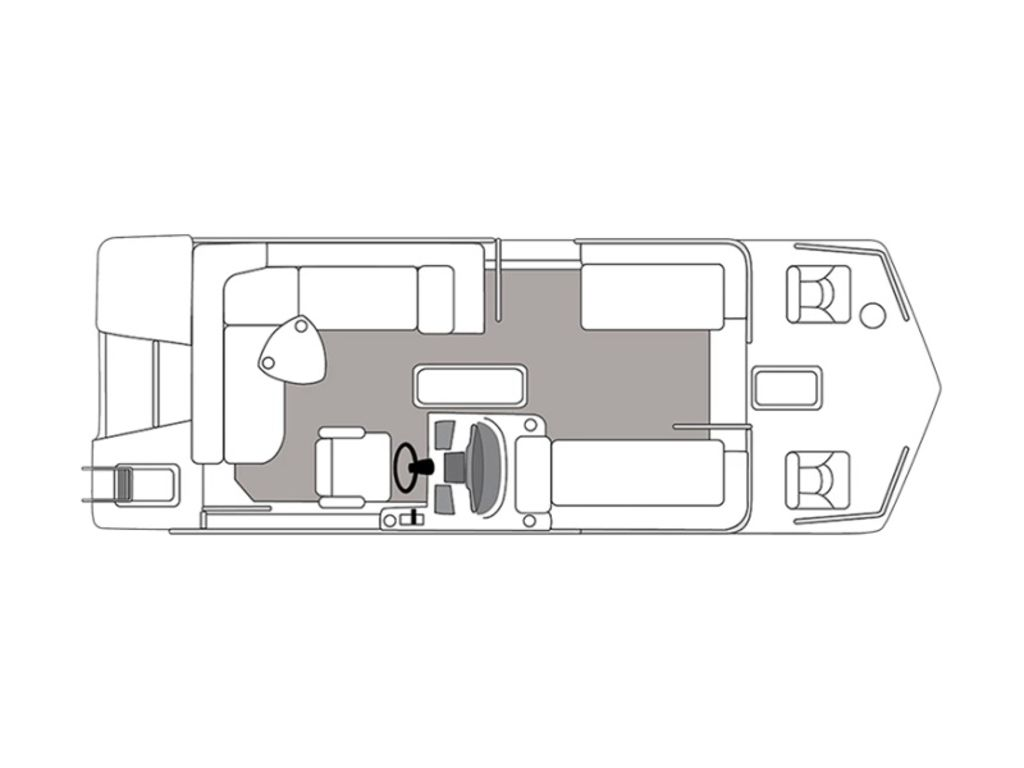 New  2021 Hurricane FunDeck 226F OB Pontoon Boat in Gulfport, Mississippi