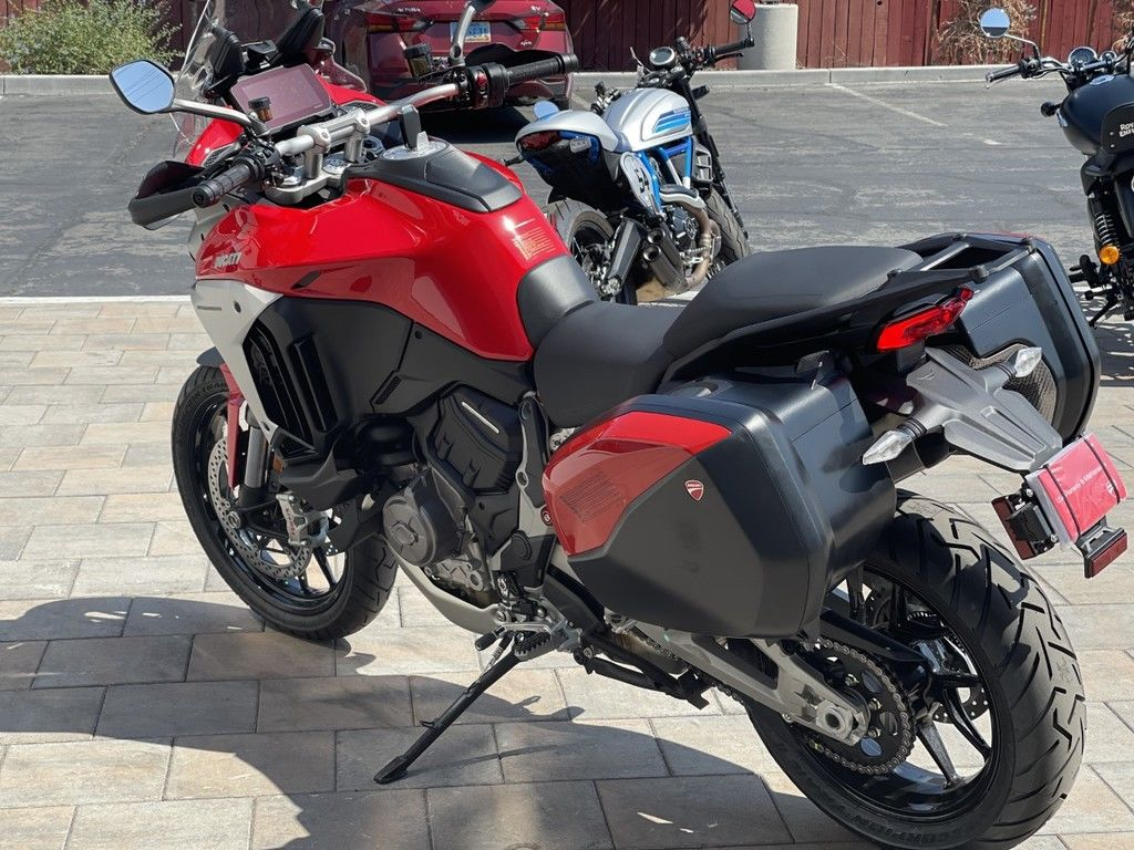 2022 ducati multistrada v4s ducati red / alloy wheels for sale in las vegas