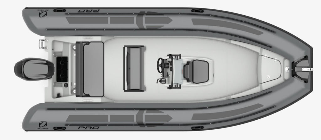 2021 Zodiac boat for sale, model of the boat is Pro 6.5 & Image # 7 of 10