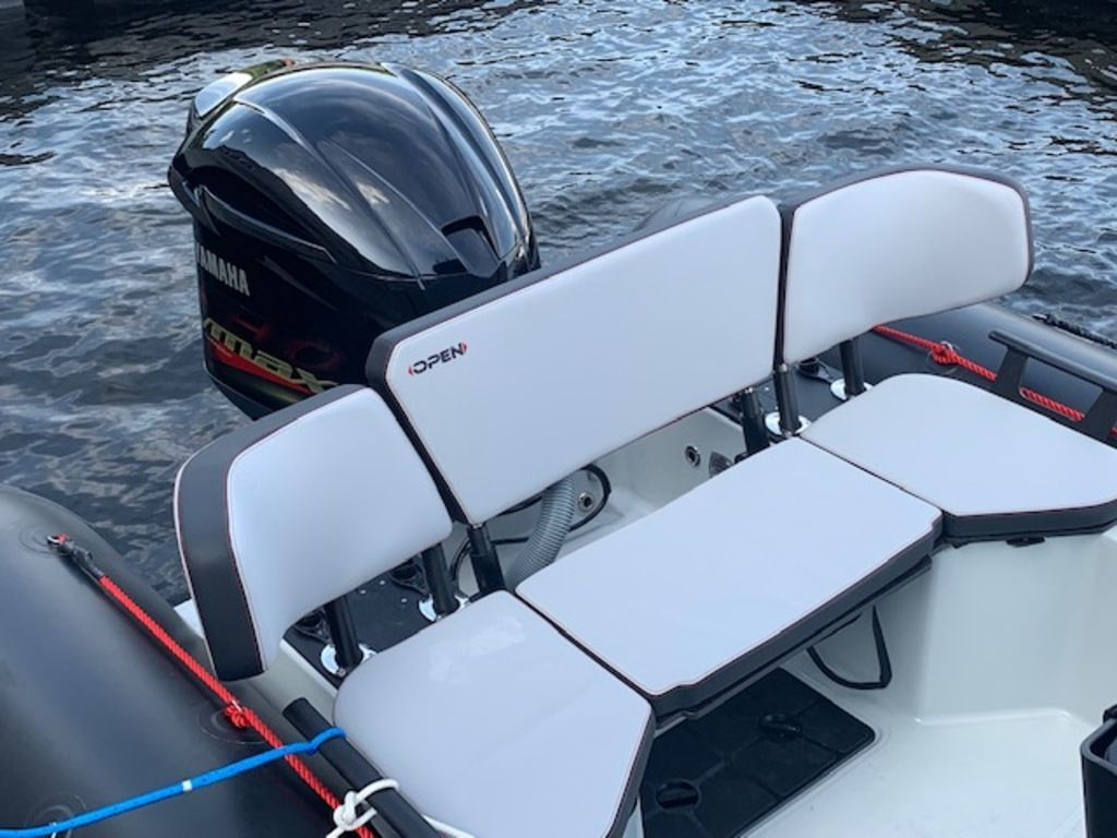 2021 Zodiac boat for sale, model of the boat is Open 7 & Image # 8 of 12