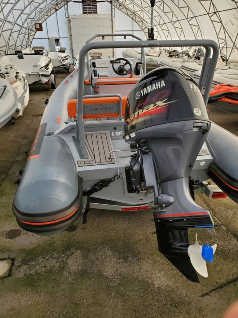 2019 Highfield boat for sale, model of the boat is OM 590 DL Hypalon & Image # 2 of 4