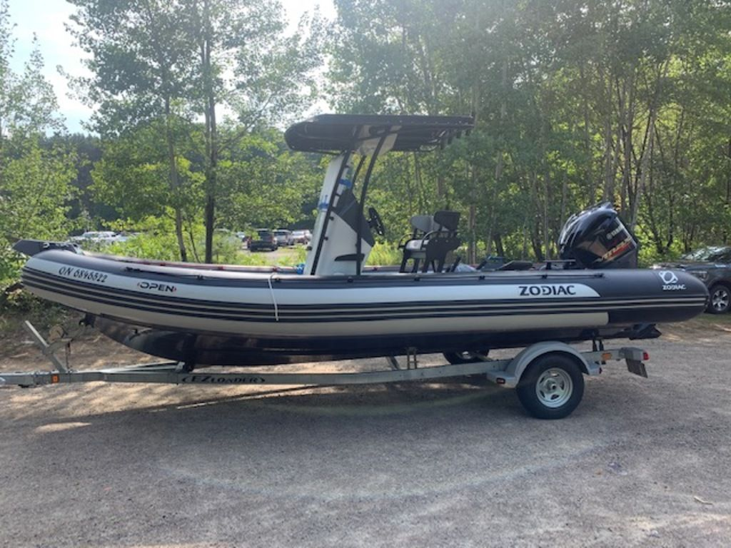 2020 Zodiac boat for sale, model of the boat is Pro 7 Open & Image # 6 of 12