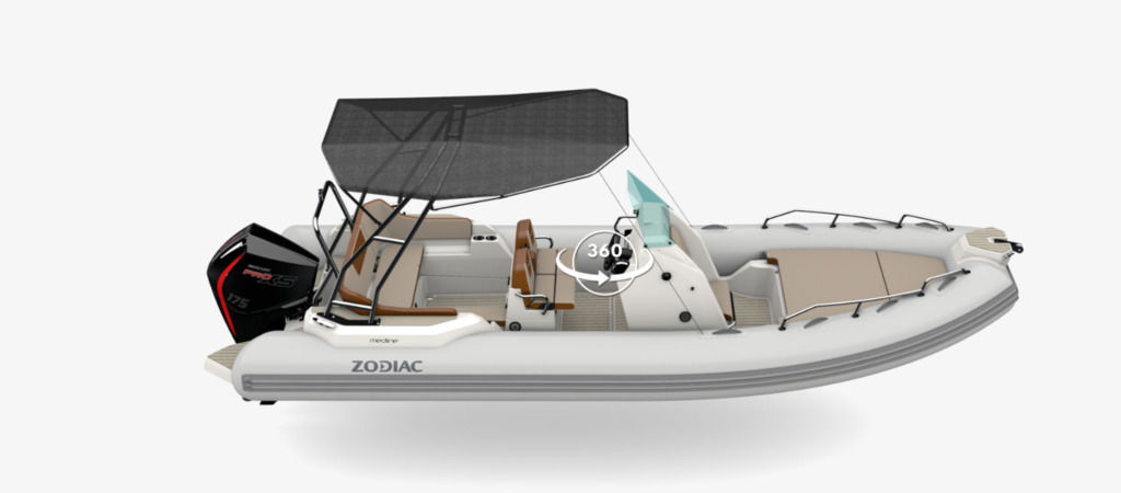 For Sale: 2021 Zodiac Medline 6.8 ft<br/>Co2 Inflatable Boats - Oakville