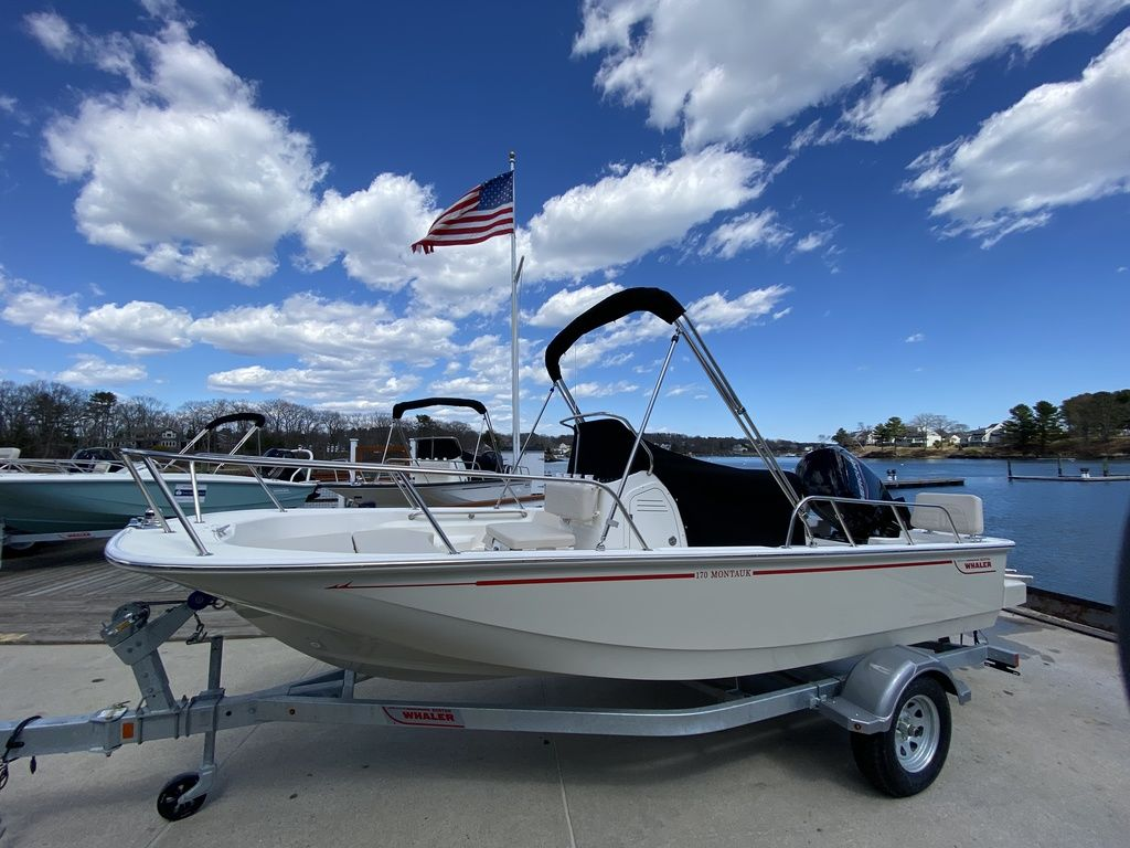 2020 Boston Whaler boat for sale, model of the boat is 170 Montauk & Image # 1 of 13