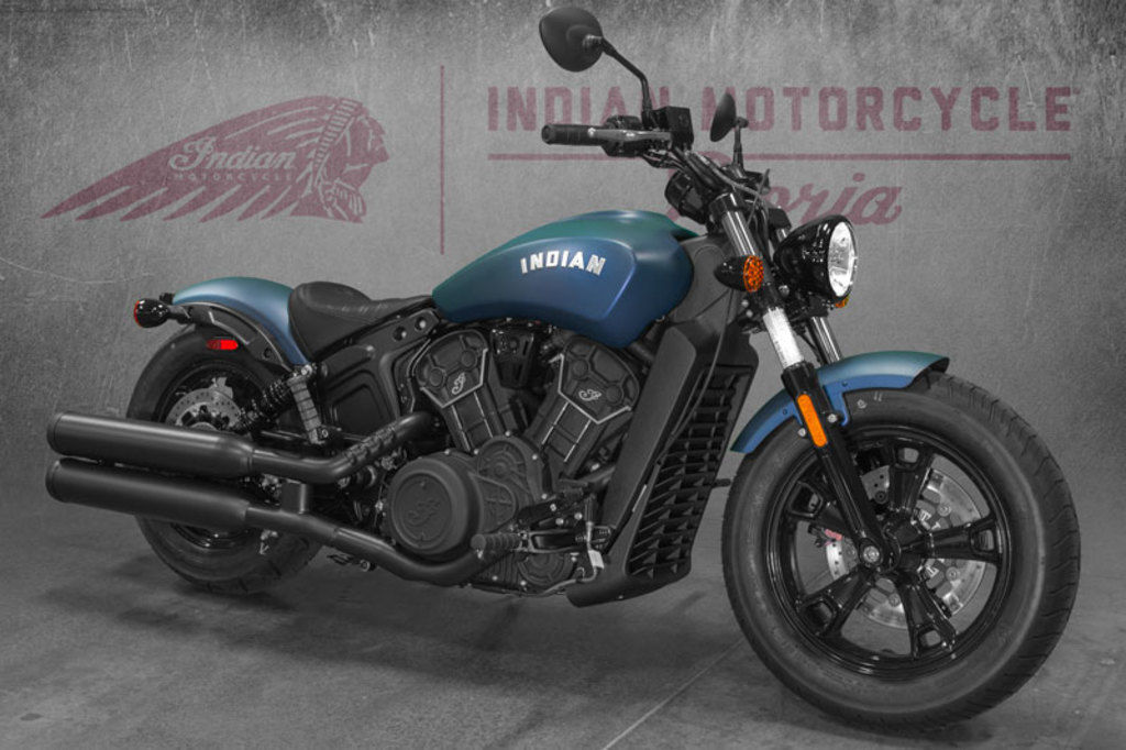 New 2021 Indian Motorcycle Scout Bobber Sixty Abs Blue Slate Smoke Cruiser Motorcycle Scooter In169009 Ridenow Powersports