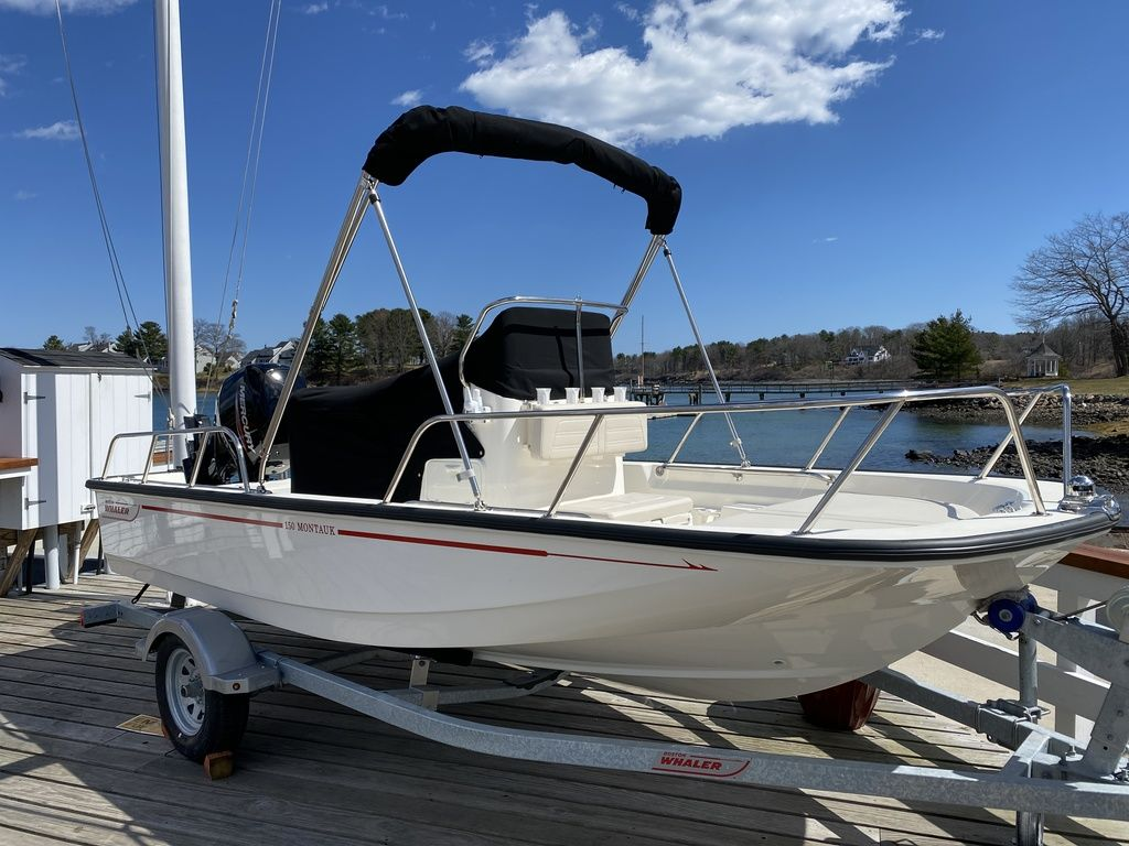 2020 Boston Whaler boat for sale, model of the boat is 150 Montauk & Image # 1 of 12
