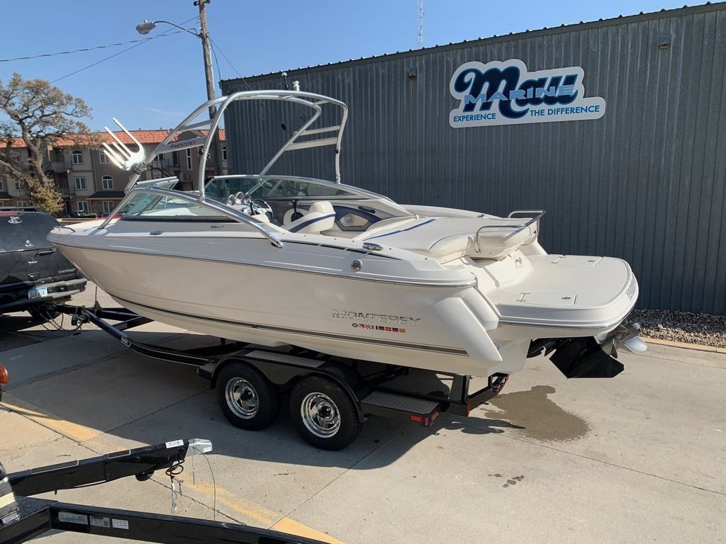 2007 Monterey boat for sale, model of the boat is 234 FS & Image # 2 of 14