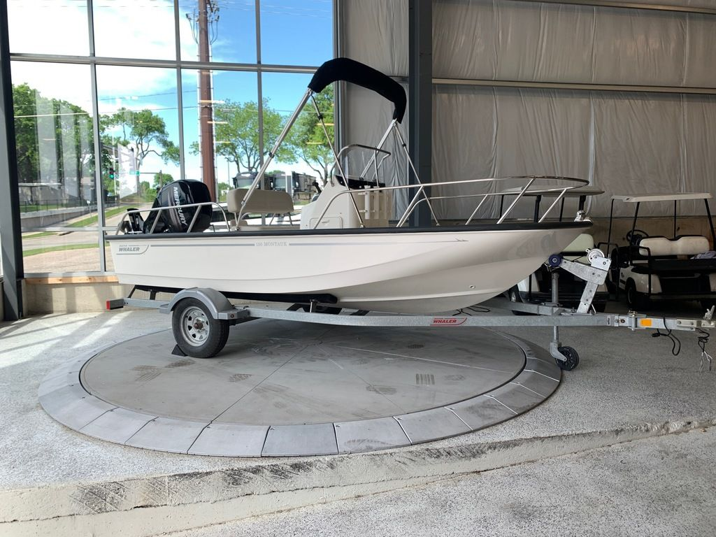 2020 Boston Whaler boat for sale, model of the boat is 150 Montauk & Image # 1 of 5