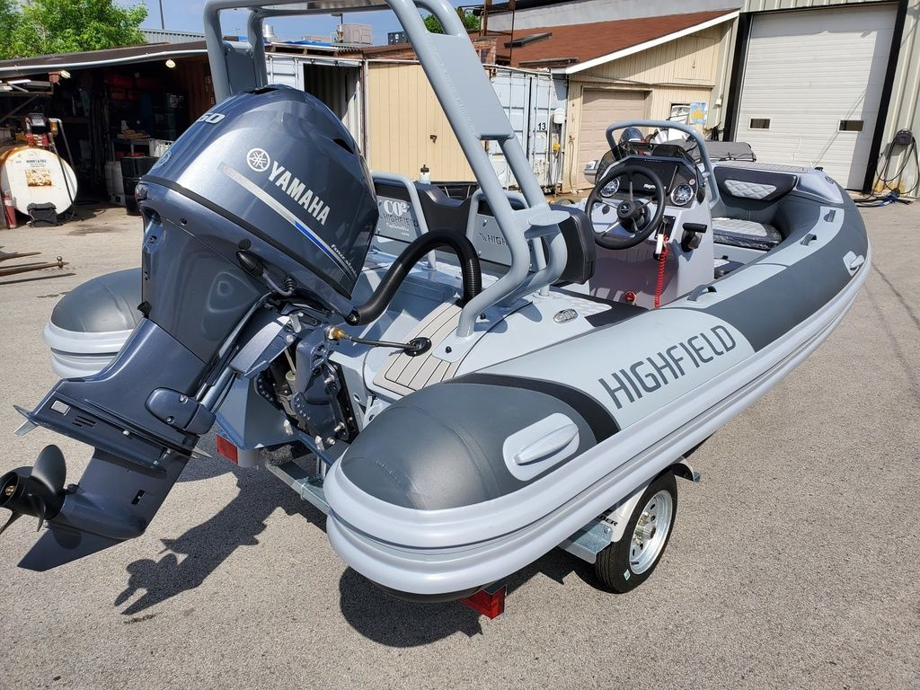 2021 Highfield boat for sale, model of the boat is Sport 460 & Image # 3 of 5