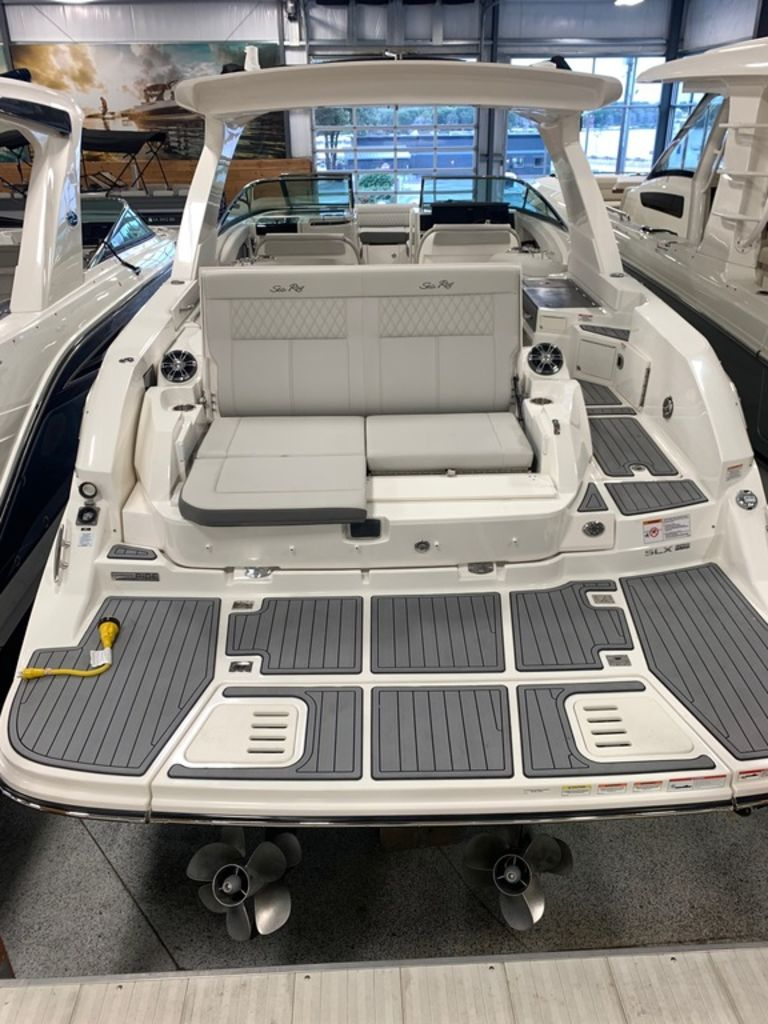 2021 Sea Ray boat for sale, model of the boat is SLX 350 & Image # 2 of 14
