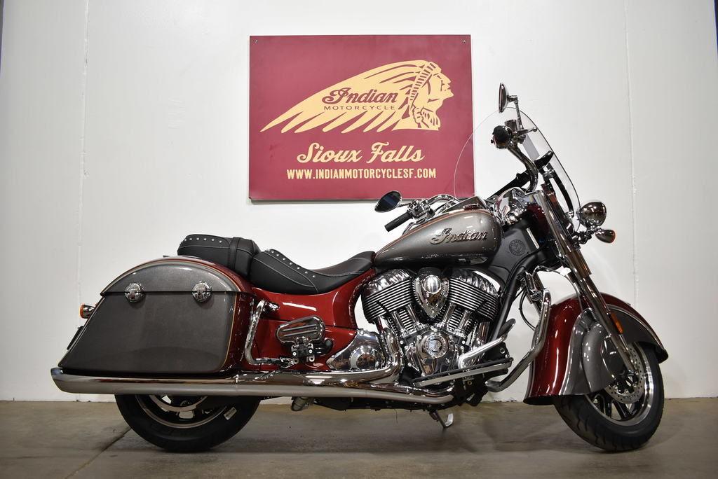 2020 Indian Motorcycle® Springfield® Burgundy Metallic / Titanium Metallic