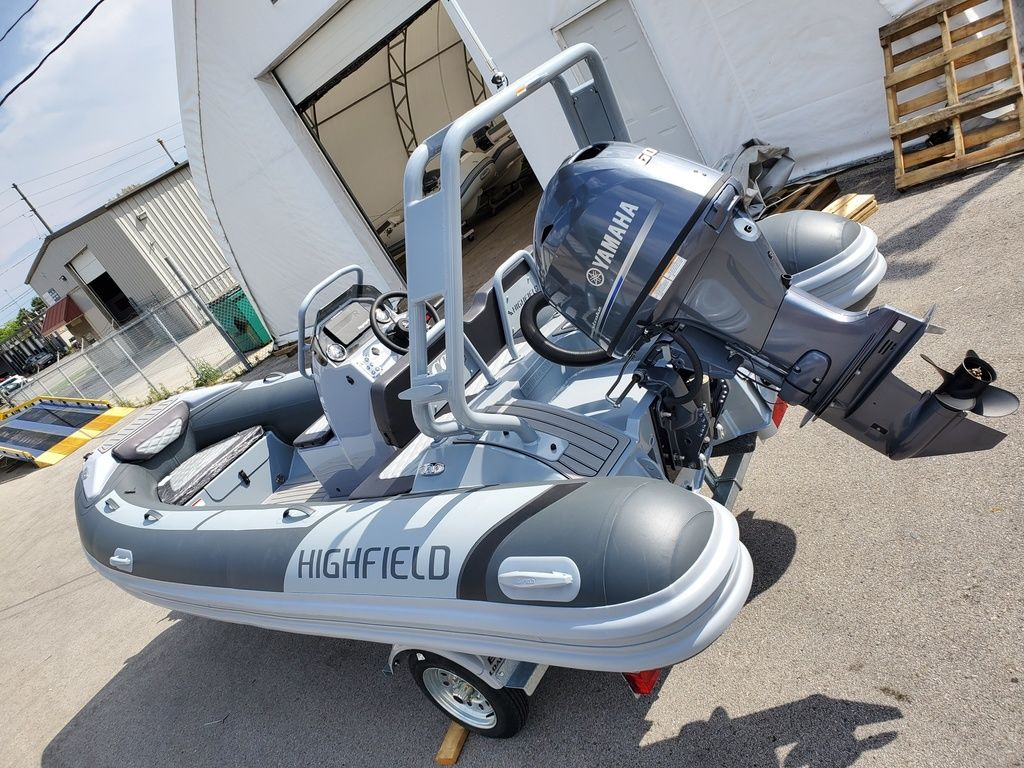 2021 Highfield boat for sale, model of the boat is Sport 460 & Image # 1 of 5