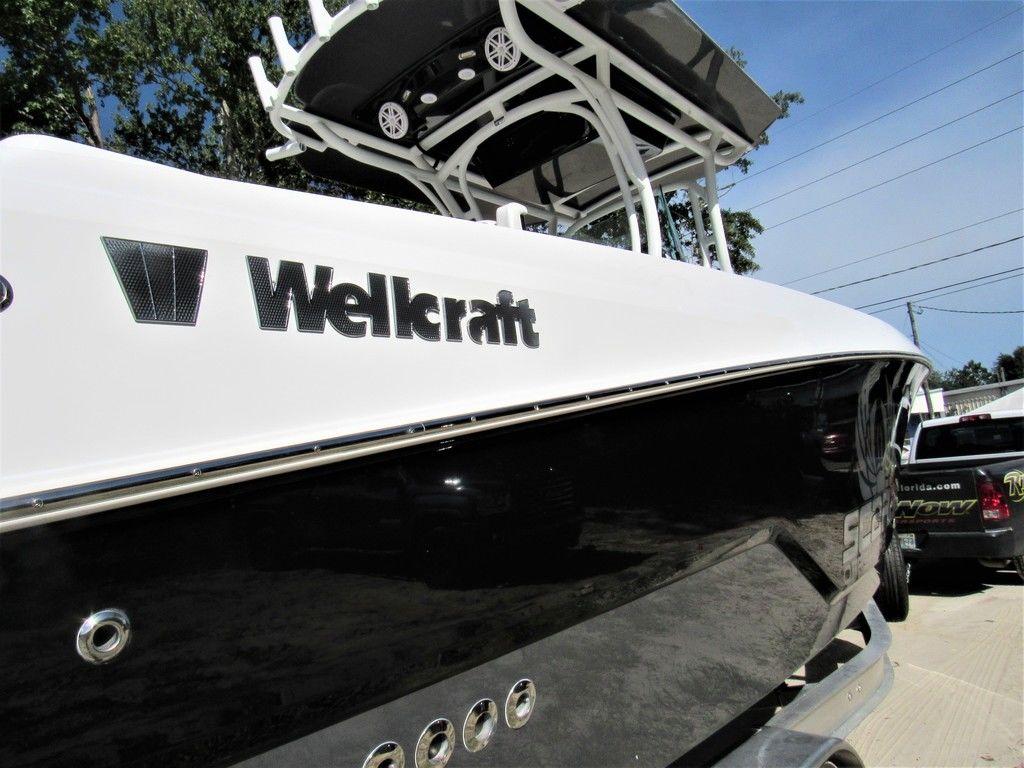 New 2021 Wellcraft 262 Fisherman Center Console