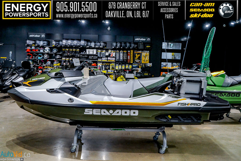 2020 Sea Doo PWC boat for sale, model of the boat is Fish Pro™ IBR & Sound System & Image # 4 of 15