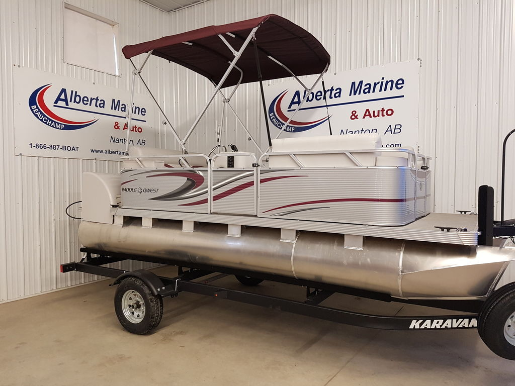 For Sale: 2018 Apex Pontoons 616 Family Cruise ft<br/>Alberta Marine