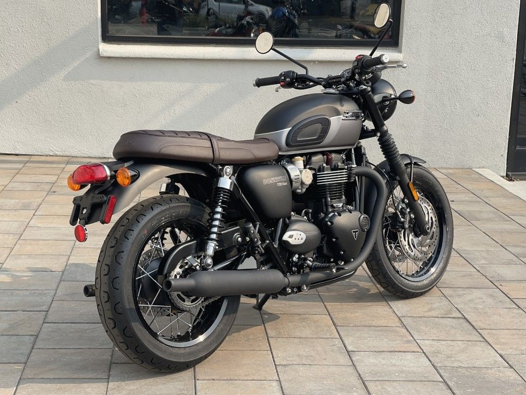 2021 triumph bonneville t120 black matt jet black matt gra for sale in las vegas