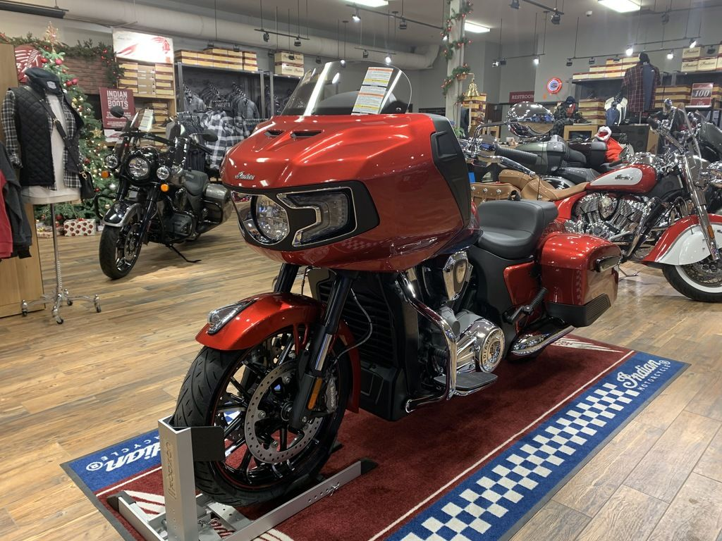 2021 Indian Motorcycle® Challenger® Limited Ruby Metallic