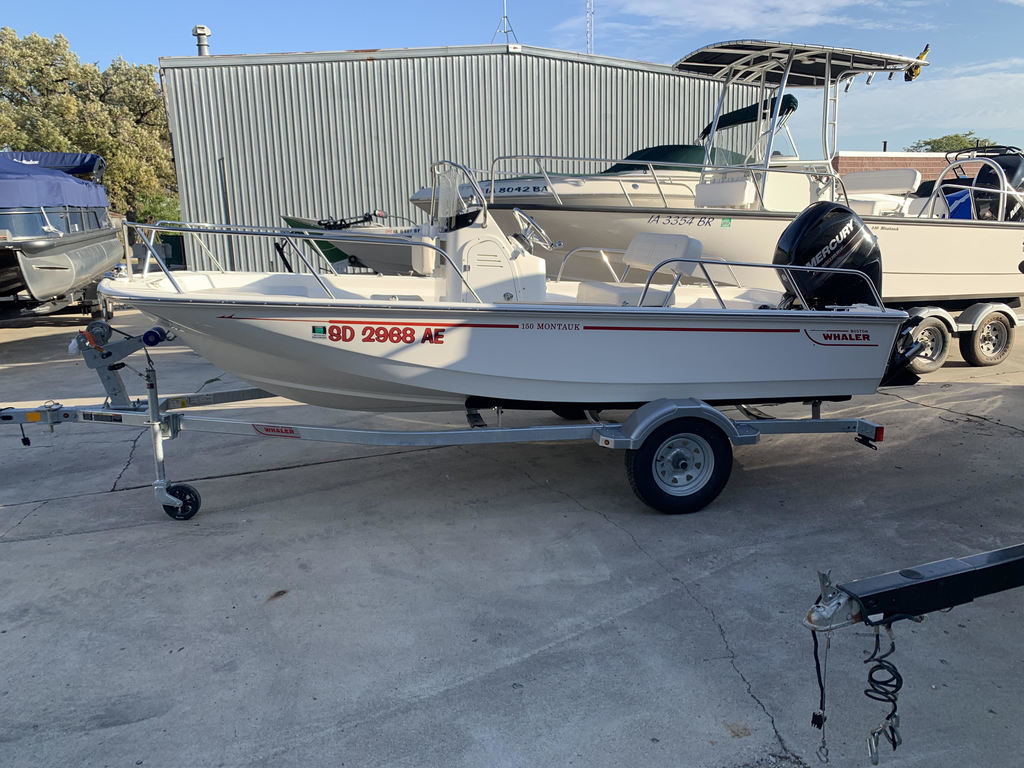 2019 Boston Whaler boat for sale, model of the boat is 15 Montauk & Image # 1 of 5