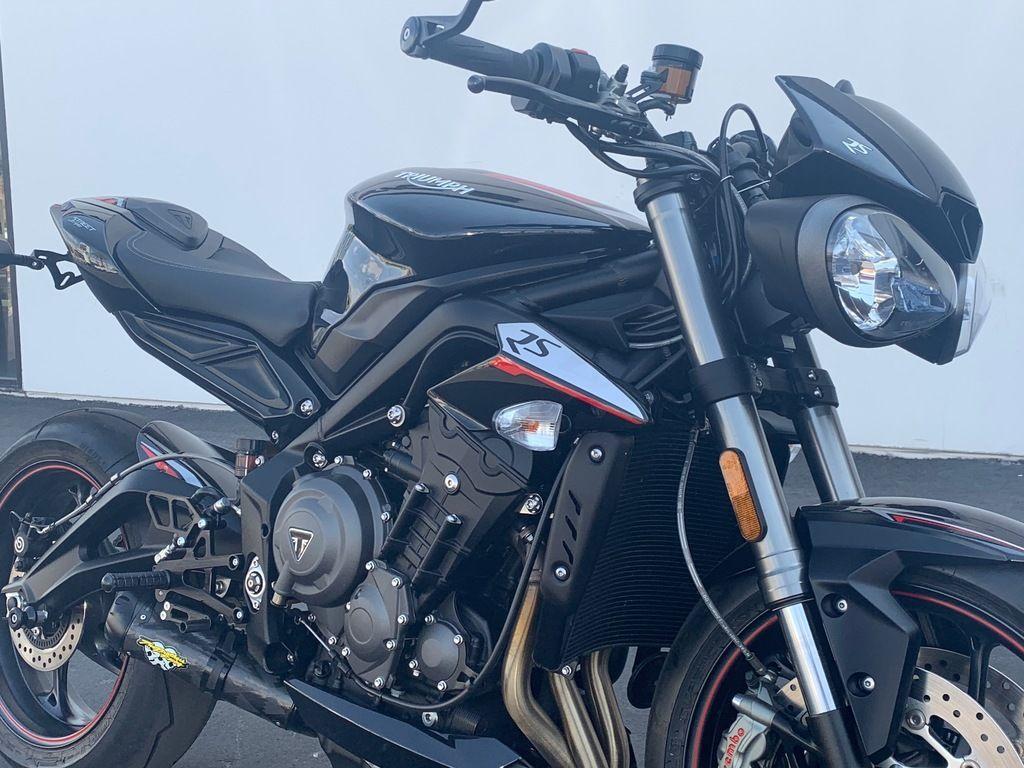2018 triumph street triple rs phantom black for sale in las vegas