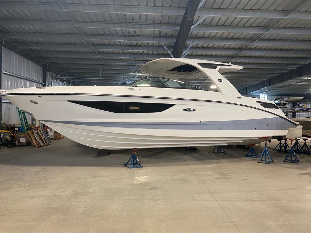 2021 Sea Ray boat for sale, model of the boat is SLX 350 & Image # 1 of 14