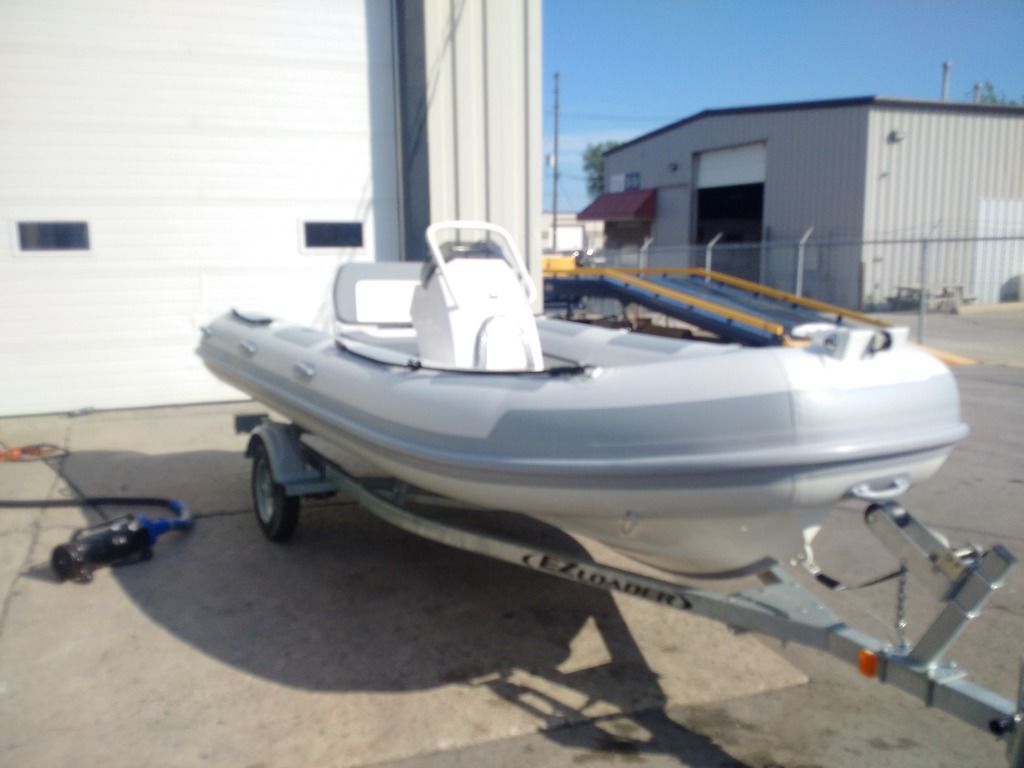 2020 Highfield boat for sale, model of the boat is 460 T & Image # 2 of 3