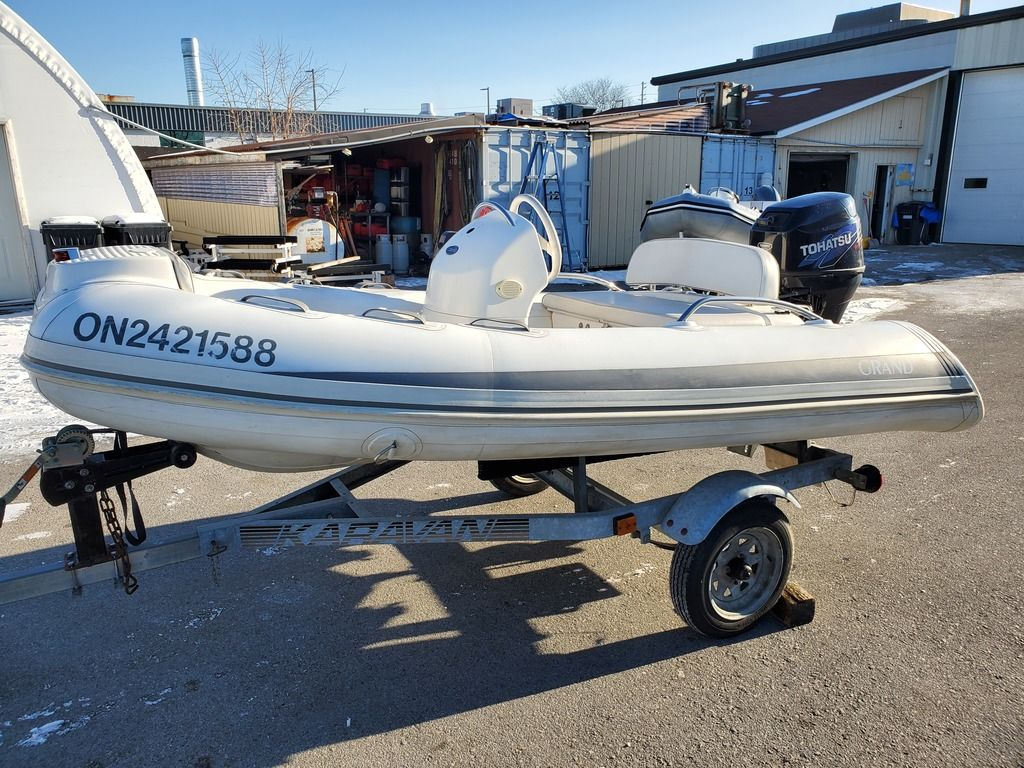 For Sale: 2011 Grand Golden Line 340 ft<br/>Co2 Inflatable Boats - Oakville