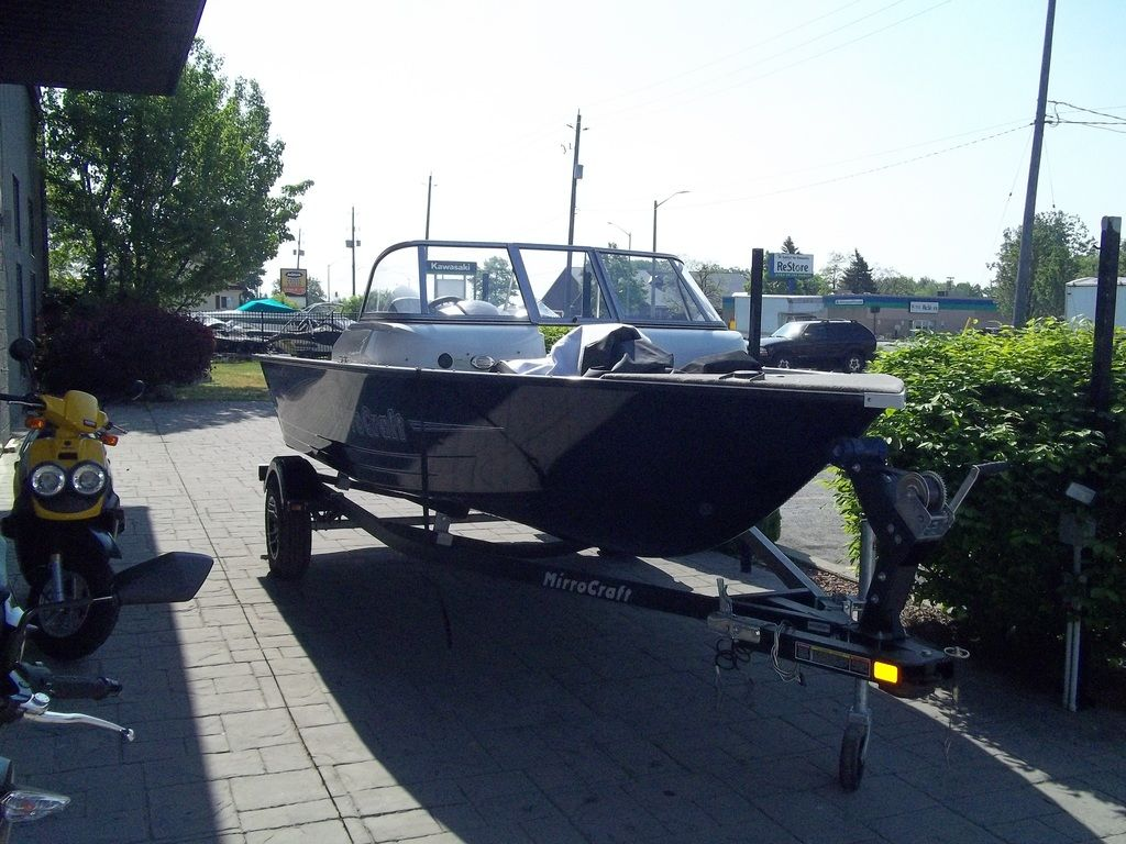 2015 MirroCraft boat for sale, model of the boat is Aggressor Series 1663 & Image # 7 of 17