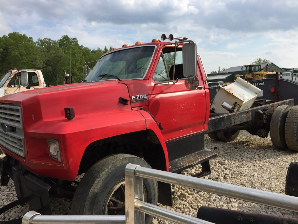 1993 FORD F750 CAB CHASSIS TRUCK #395782