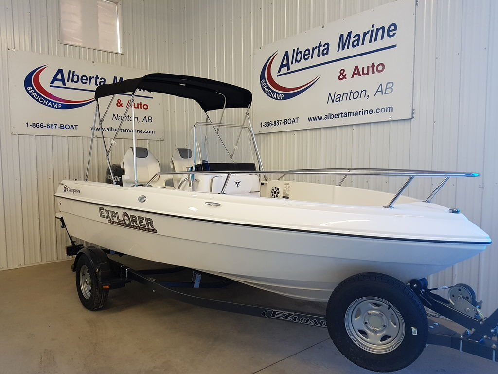 2018 Campion boat for sale, model of the boat is 492 CC & Image # 1 of 7