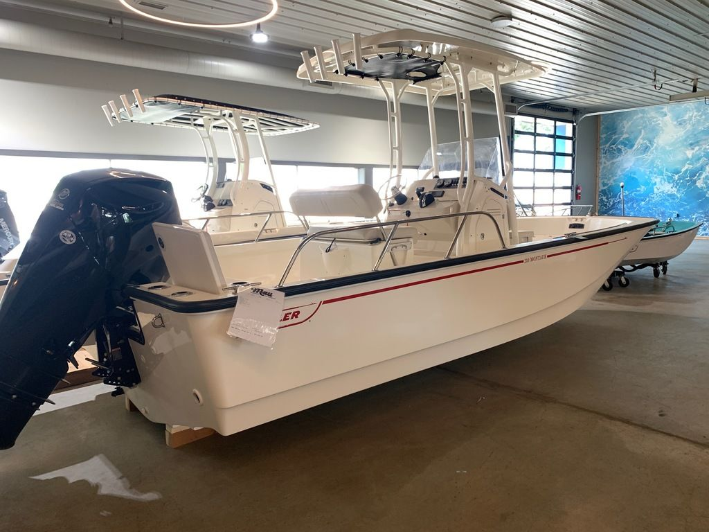 2019 Boston Whaler boat for sale, model of the boat is 210 Montauk & Image # 2 of 9
