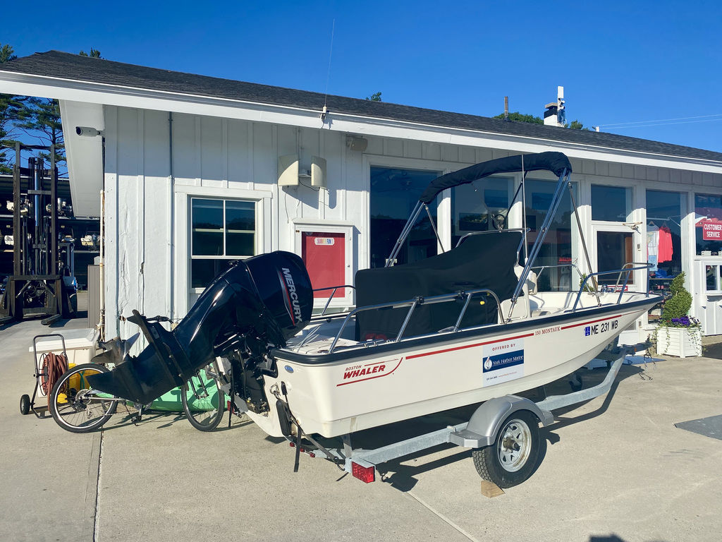 2020 Boston Whaler boat for sale, model of the boat is 150 Montauk & Image # 2 of 5