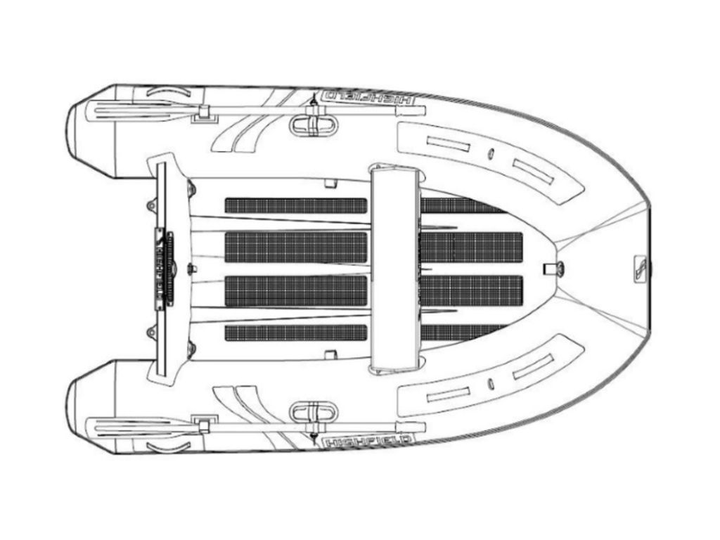 2021 Highfield boat for sale, model of the boat is UL 290 & Image # 2 of 7