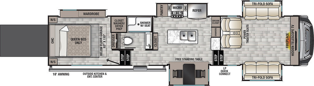 2022 Forest River 385TH