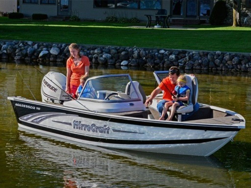 2015 MirroCraft boat for sale, model of the boat is Aggressor Series 1663 & Image # 17 of 17