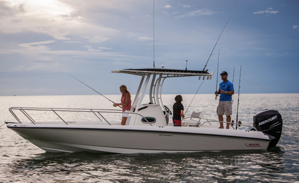 2020 Boston Whaler boat for sale, model of the boat is 240 Dauntless & Image # 1 of 1