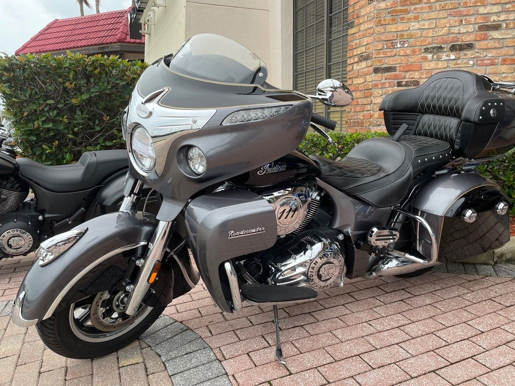 New 2016 Indian Motorcycle Roadmaster® Steel Gray and Thunder Black Touring