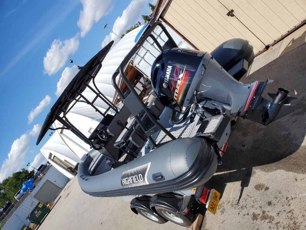 2021 Highfield boat for sale, model of the boat is Patrol 660 & Image # 3 of 6