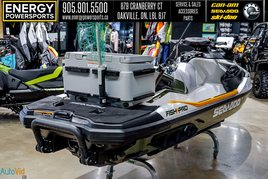2020 Sea Doo PWC boat for sale, model of the boat is Fish Pro™ IBR & Sound System & Image # 7 of 15