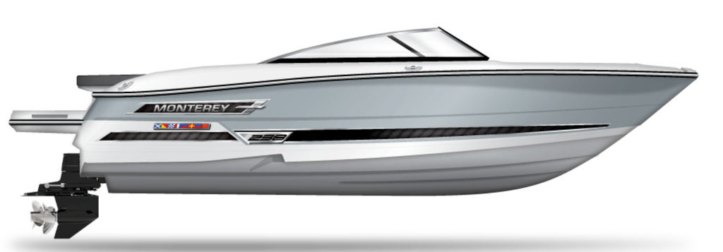 2021 Monterey boat for sale, model of the boat is 238SS & Image # 1 of 1