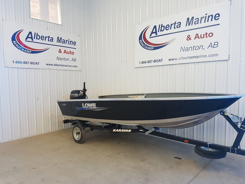 For Sale: 2018 Lowe V1468 ft<br/>Alberta Marine