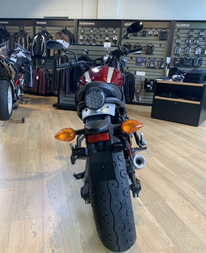 B2 Yamaha Dragstar Vstar XVS 650 Leather Swingarm Saddle Bag Pannier Single