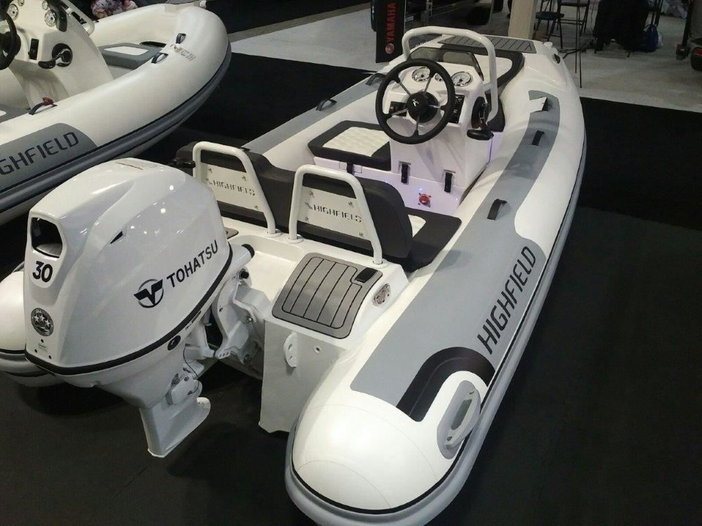 2021 Highfield boat for sale, model of the boat is Sport 360 Deluxe & Image # 3 of 11