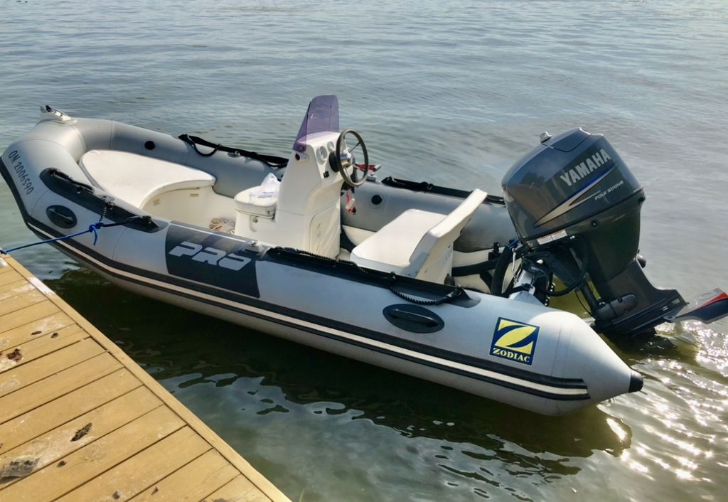 For Sale: 2009 Zodiac Pro 7 Man ft<br/>Co2 Inflatable Boats - Oakville